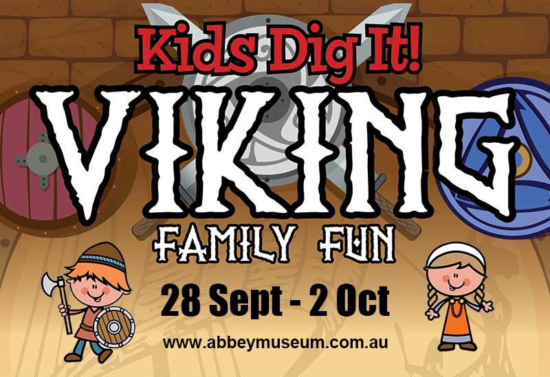 Kids Dig It Viking flyer