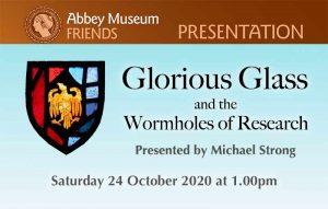 GLORIOUS GLASS talk flyer