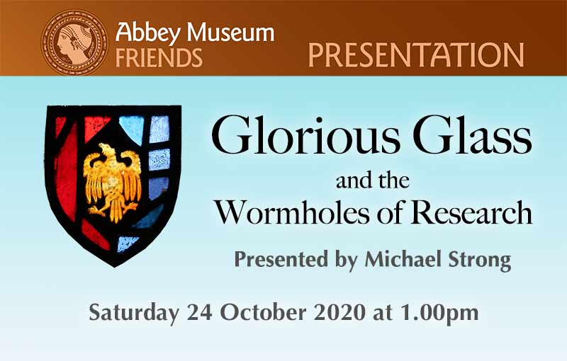 GLORIOUS GLASS talk flyer