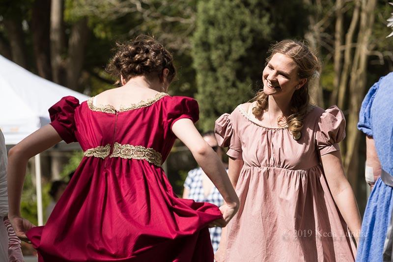 Dancing at Picnic at Pemberley