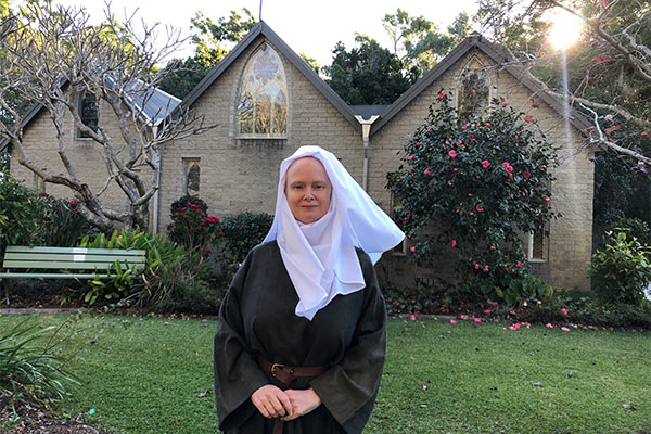 Rachel Harris as Julian of Norwich