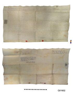 18th Century Land Sale document