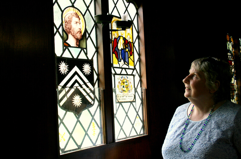 Stained glass tours at the Abbey