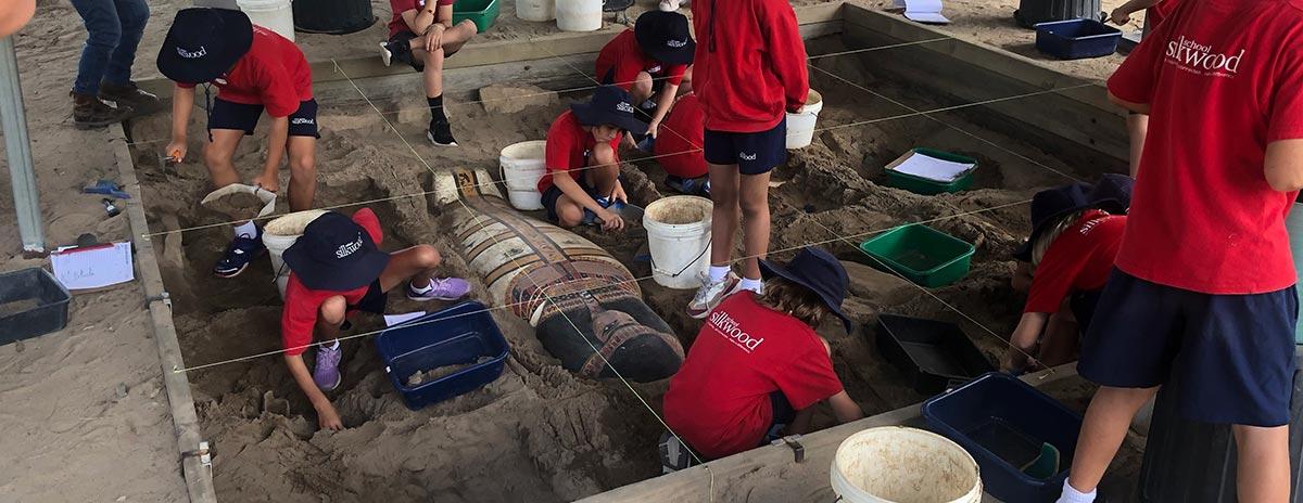 Achaeological School Dig