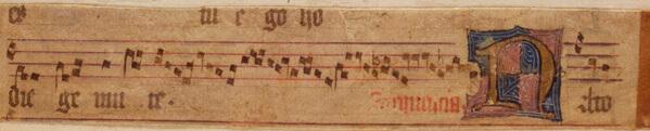 Long gradual manuscript