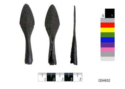socketed leaf-shaped arrowhead