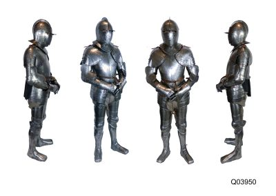 cuirassier's complete suit of armour