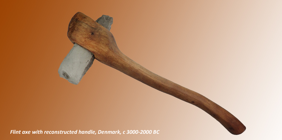 AXE WITH HANDLE