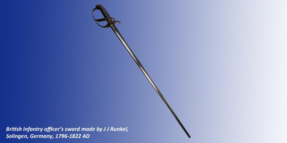 BRITISH INFANTRY OFFICERS SWORD