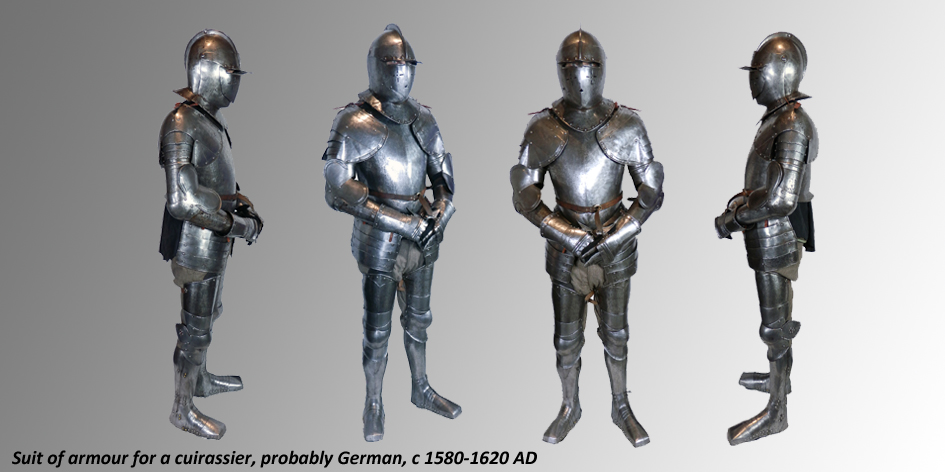 CUIRASSIERS COMPLETE SUIT OF ARMOUR