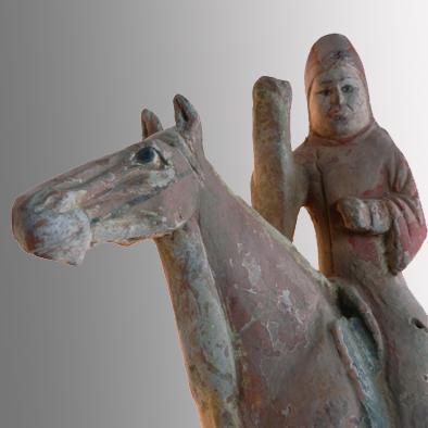 TANG HORSE AND RIDER