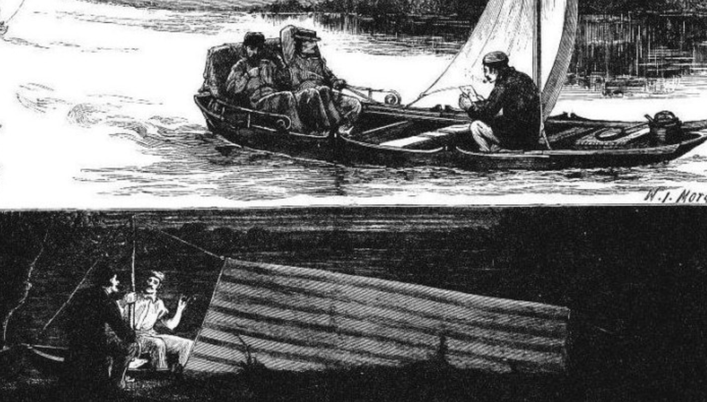Thames Skiffs. (Image from http://simonwenham.com/)